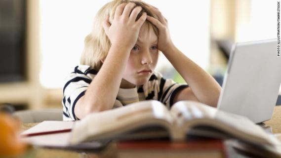 Резултат с изображение за стресове при ученика